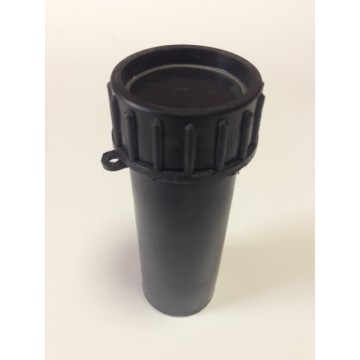 Пенал (тубус)  пластиковый для ключей 105х40 мм